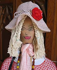 cute miss scarecrow