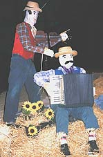 Scarecrow bush band