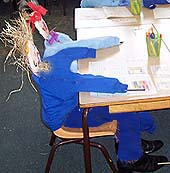 Scarecrows in school