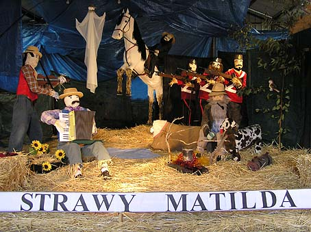 Strawy Matilda Scarecrow Display